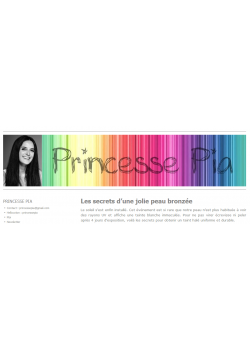Blog Princesse Pia
