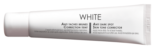 WHITE gel - 30 ml - 36 €